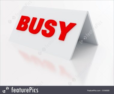 busy-sign-stock-illustration-2184508